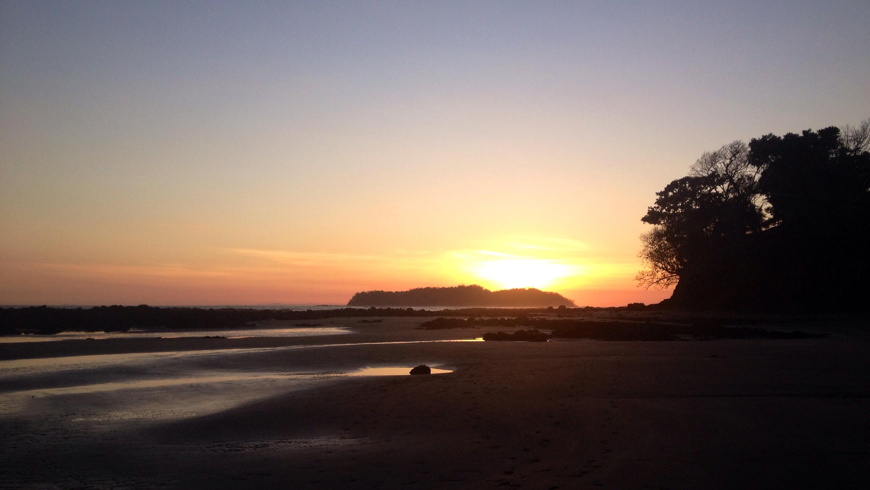 Sonnenuntergang die Letzte