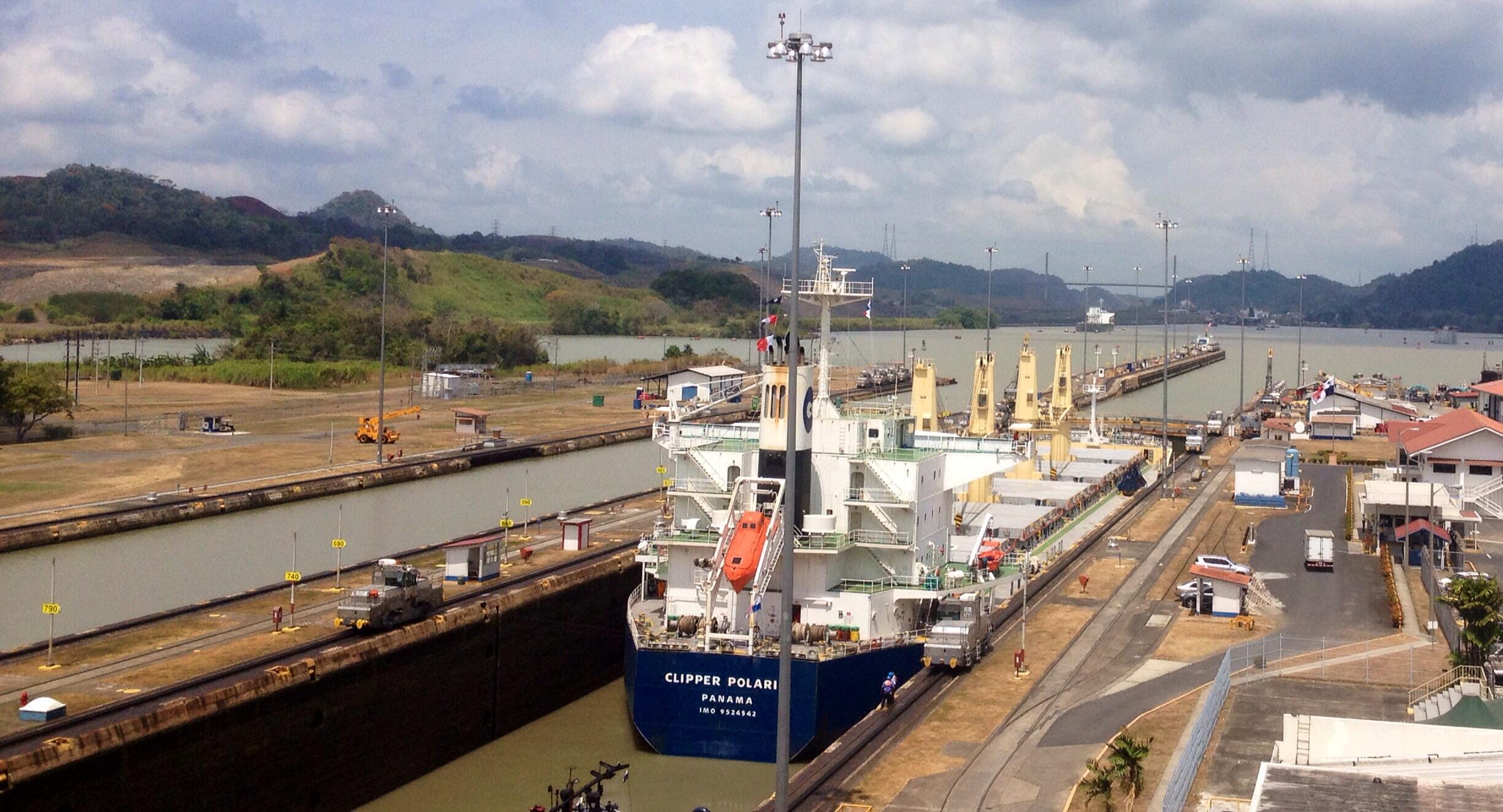 Panamakanal Miraflores Locks