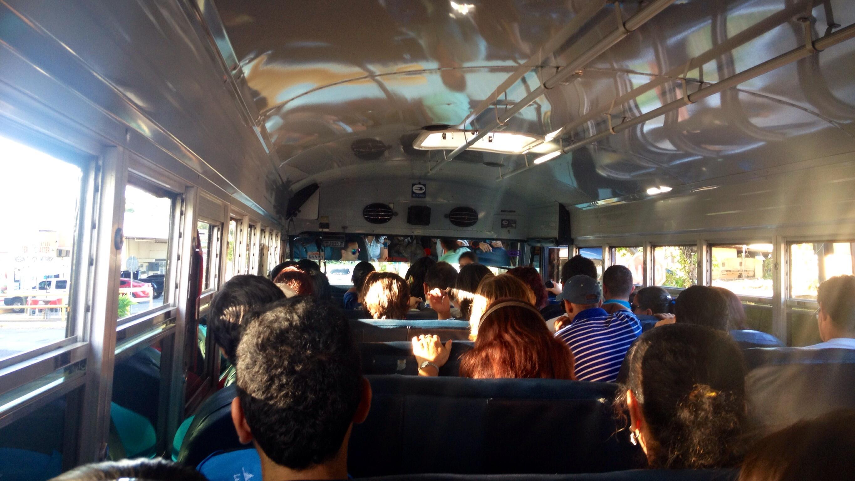 Impressionen aus dem Bus