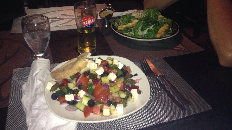 Beweisfoto zum Salat