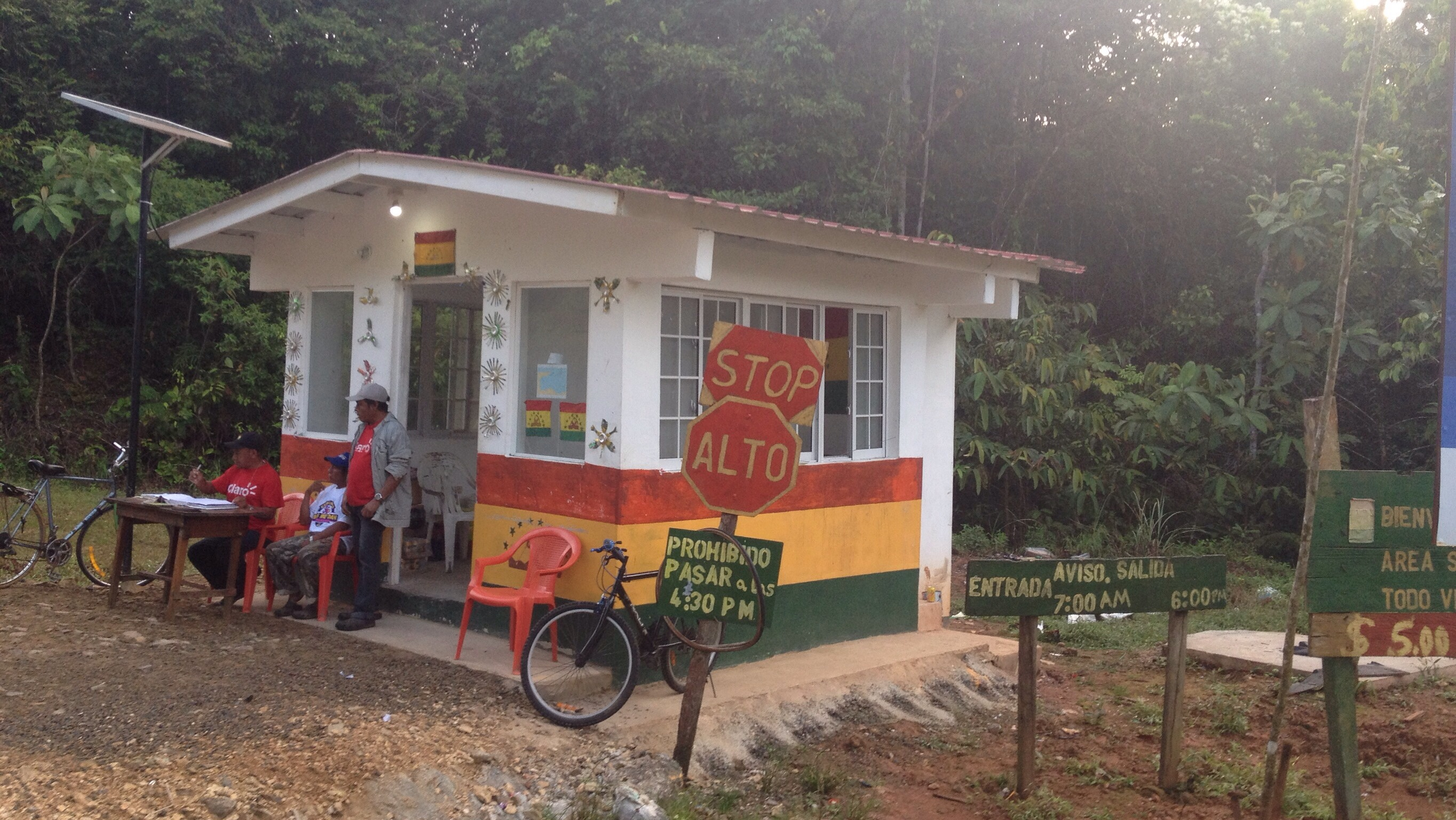 Grenzstation der Comarca Guna Yala