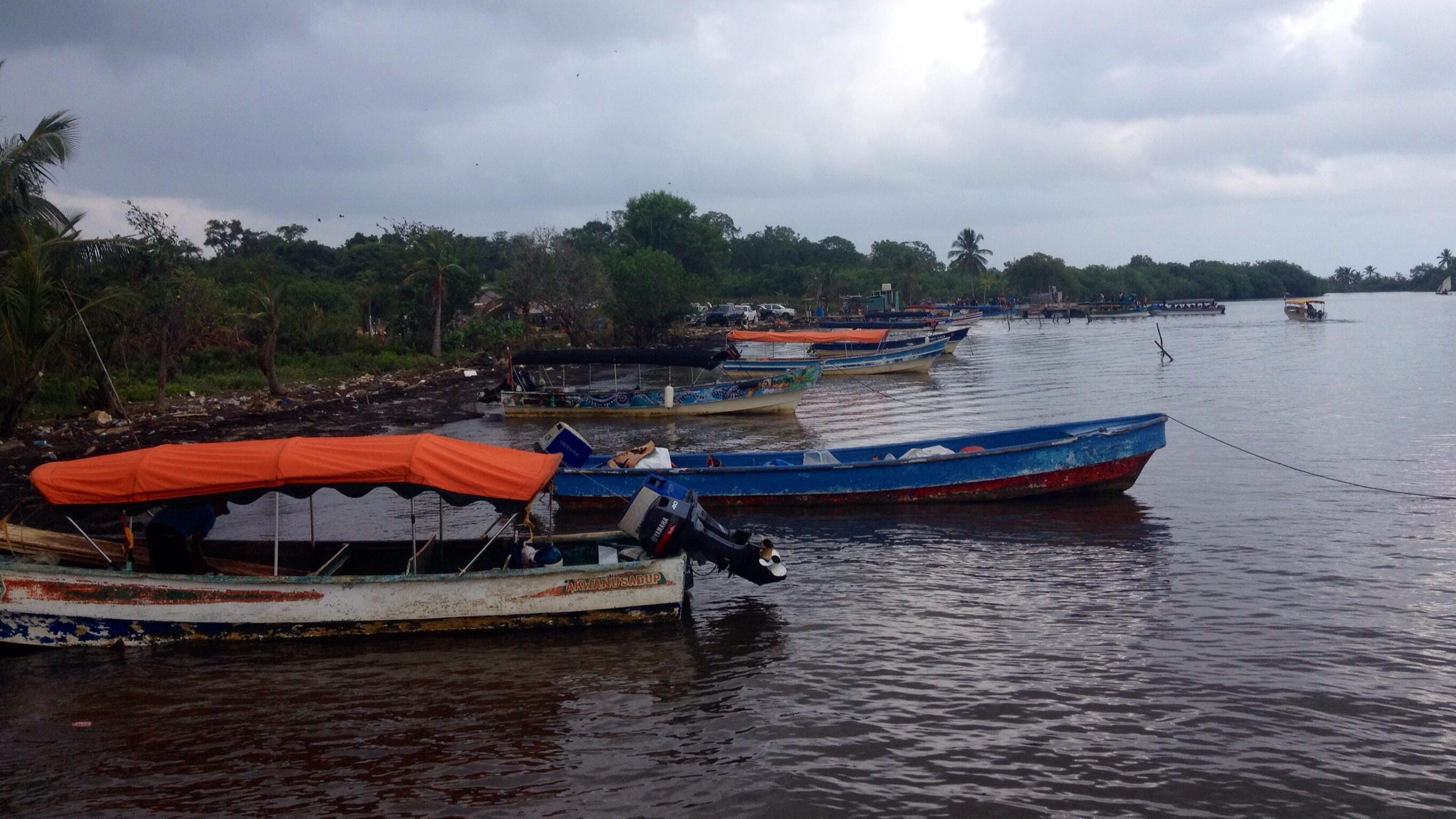 Ableger bzw. Zubringer zu den Inseln des San Blas Archipels