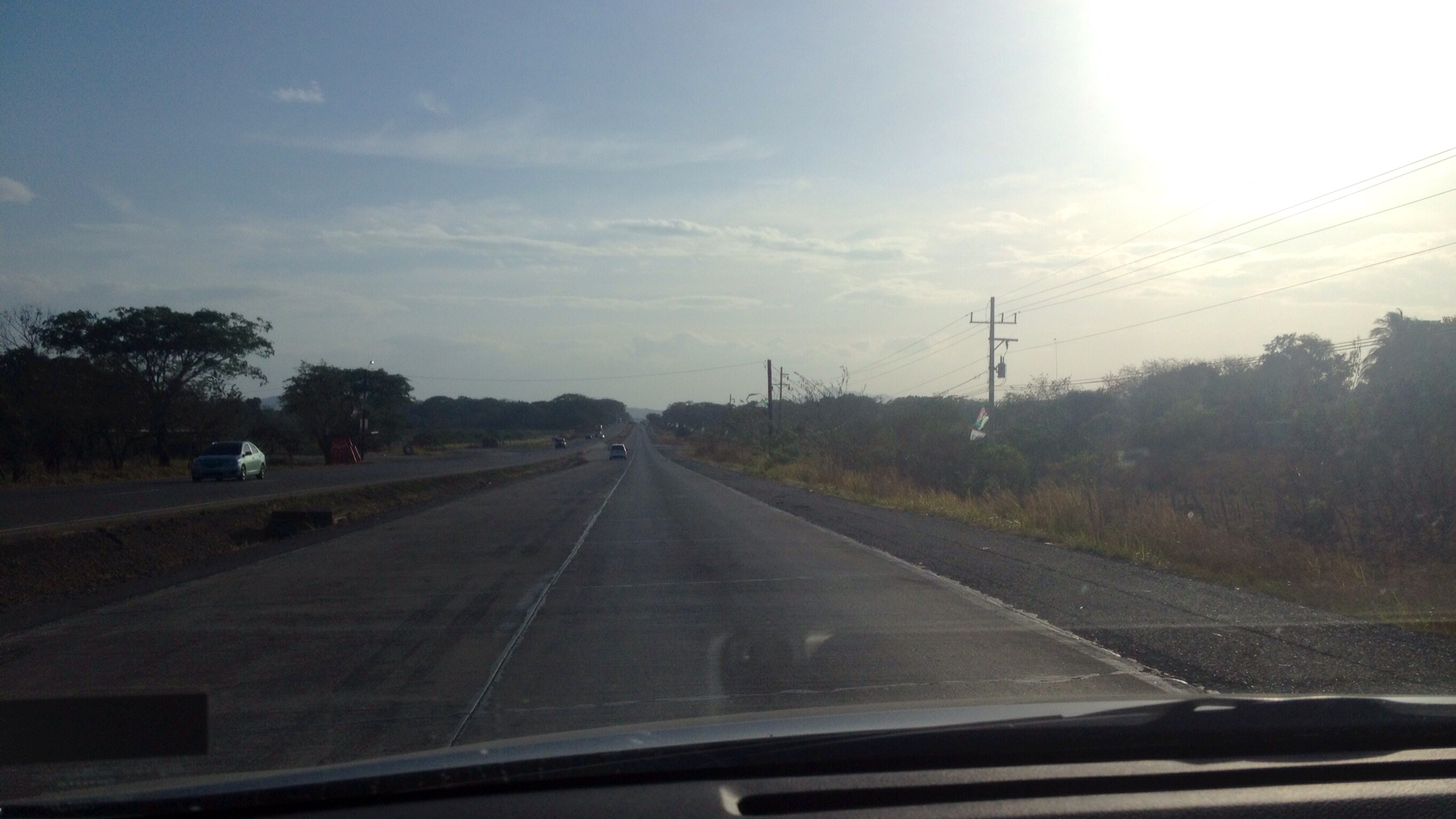 On the road again in Panama