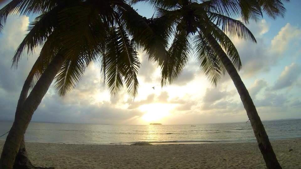 Sonnenuntergang von Hook-Island aus