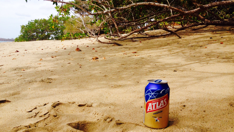Unser Lieblingsbier Atlas am Strand