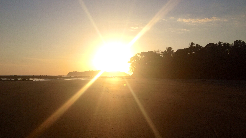 Sonnenuntergang Playa Estero