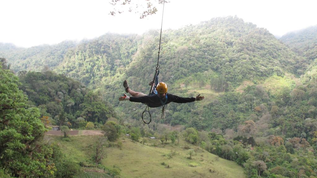 Sven freihändig am Tarzanswing