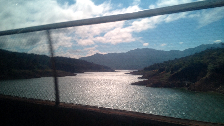 Staudamm - Impressionen von der Fahrt Boquete - Almirante