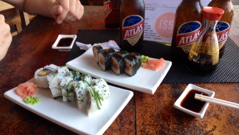 Sushi im Raw - Bocas del Toro
