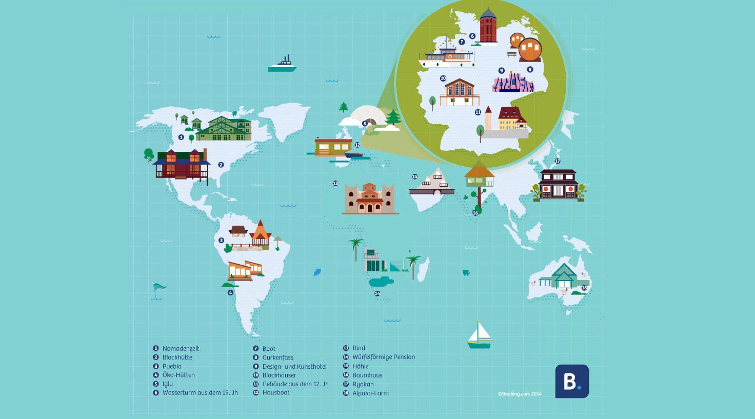 Epic Accommodations around the world